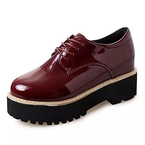 Zapatos casuales de la primavera/Grueso con zapatos de suela gruesa D