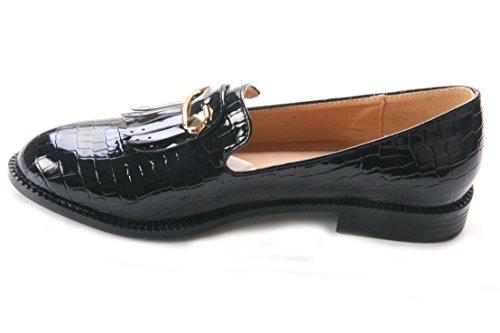 Mojoshu - Zapatos de Vestir mujer negro