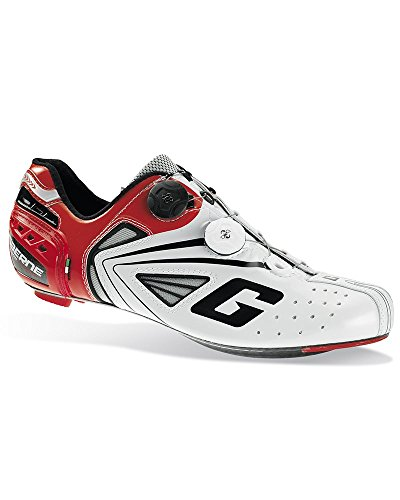 Gaerne Carbon Composite G.Chrono Scarpe Road Ciclismo, Red - 43