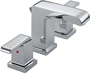 cheap Delta 3586LF-MPU Arzo Two Handle Widespread Lavatory Faucet, Chrome