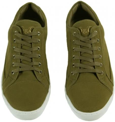 Canvas Trainer Sneakers D\u0026G