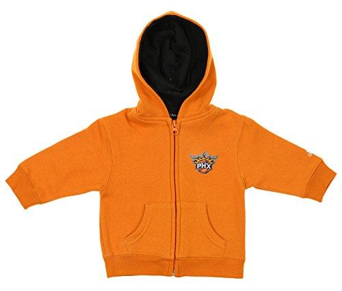 Reebok NBA Infant's Phoenix Suns Prime Full Zip Hoodie, Orange 12 M (Orange Reebok Hoodie)