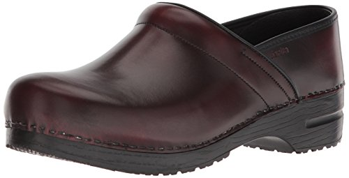 Sanita Men's Original Pro. Cabrio Clog, Bordeaux, 40 Medium EU (7 US)