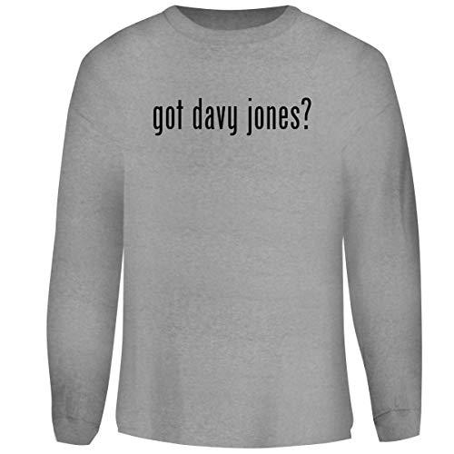 One Legging it Around got Davy Jones? - Men's Funny Soft Adult Crewneck Sweatshirt, Heather, Large Davy Jones Adult Mask