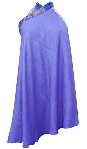 sheshe Vintage Saree Skirt Pure Silk Solid Pattern Reversible Magic Hippie Dress Hippie Silk Skirt