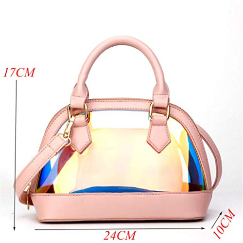 Pink Shoulder Messenger Women Bags Silicone Beach Pink Tote Bag 8dxa7z
