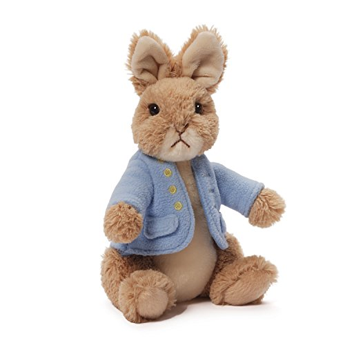 GUND Classic Beatrix Potter Peter Rabbit Stuffed Animal Plush, (Stuffed Easter Rabbits)