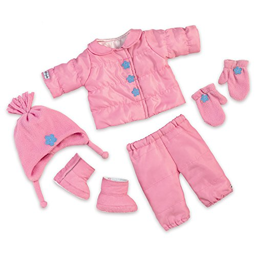 The Ashton-Drake Galleries 7 Piece So Truly Mine Baby Doll Winter Coat Accessory Set by (Doll Drake Clothes Ashton)