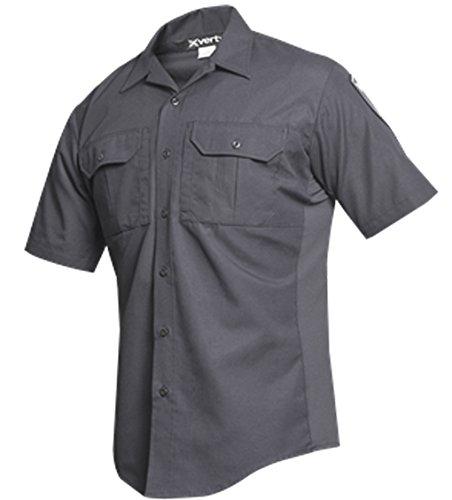 Vertx Men's Phantom LT Short Sleeve Shirt, Smoke