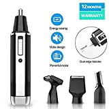 Cleanfly Nose Hair Trimmer Nose Hair Trimmer For Men Wet/Dry Electric Nose And