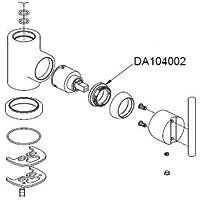 Danze DA104002 Lock Nut Faucet Parts by Danze