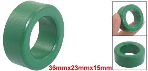 eDealMax 36mm Dia Fuera de Hierro Verdes Para inductores bobinas toroidales núcleos de ferrita: Amazon.com: Industrial & Scientific