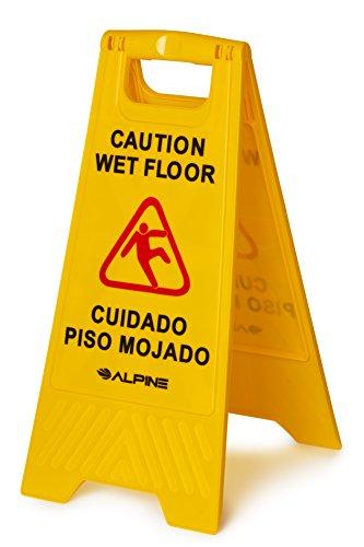 yellow caution wet floor - 9