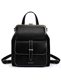 ECOSUSI Women Backpack Purse PU Leather Small Travel Casual Ladies Shoulder Bag