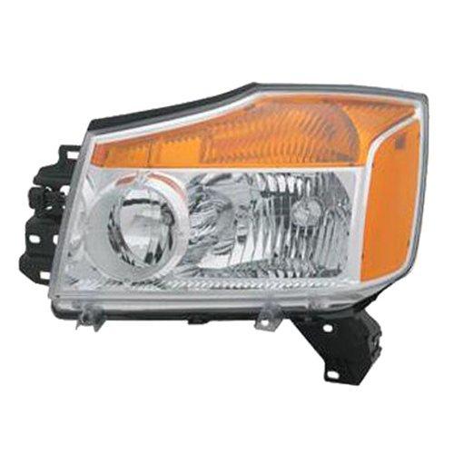 TYC 20-6946-00-9 Nissan Titan CAPA Certified Replacement Left Head Lamp rm-TYC-20-6946-00-9