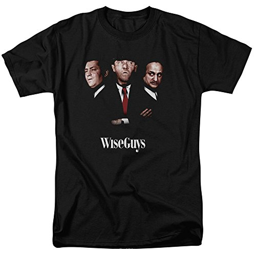 2Bhip Three Stooges Slapstick Famous Comedy Group Wiseguys Adult T-Shirt Tee Black