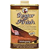 Howard Products Howard RF5016 16 oz. Mahogany Restor-A-Finish - 6ct. Case
