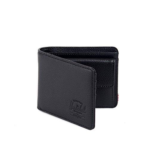 Black Coin Co Men's Leather Pebble Wallet Supply Hank Herschel xHPIwTqn