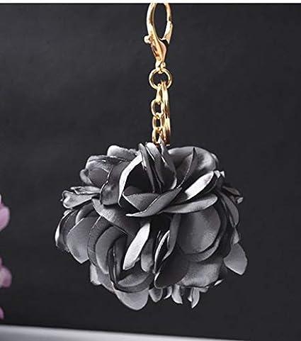 Amazon.com: RubyShopUU - Llavero con diseño de flor de rosas ...