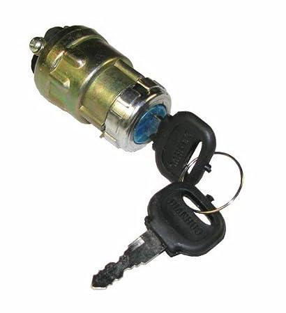 amazon com: new ignition key switch 150cc 250cc hammerhead joyner keyswitch go  kart 3-screw: automotive