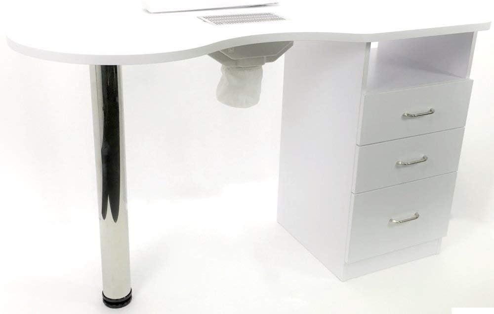 Mesa de manicura para reconstrucción y decoración de uñas, con 3 ...