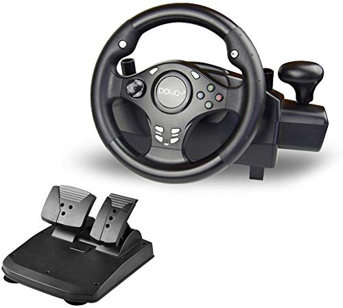 DOYO 270 Degree Rotation Pro Sport Racing Wheel for PS3/PS4/XBOX ONE/XBOX360 (Steering Set Xbox360)