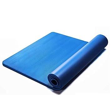 Caixia Las esteras de Yoga para Principiantes, largas y ...