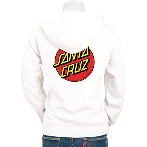 Santa Cruz Girls Other Dot Hoody Zip Sweatshirt