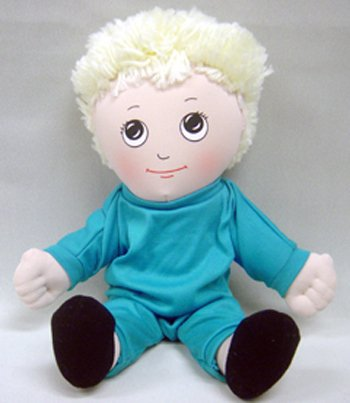 - Children's Factory Sweat Suit Doll - Caucasian Boy