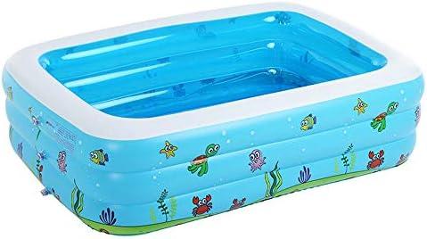 HEROTIGH Piscinas Hinchables Familia Tres Anillos Engrosamiento Piscina Marina De Bolas Niños Inflable Ecológico Plegable 262 Metros. Inflatable Pool: Amazon.es: Jardín