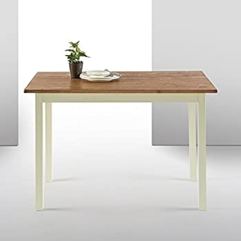 Charmant Zinus Farmhouse Wood Dining Table/Table Only