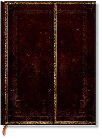 Paperblanks Old Leather Journals (Black Moroccan) - Ultra, 7 In. x 9 In. 1 pcs sku# 1849878MA