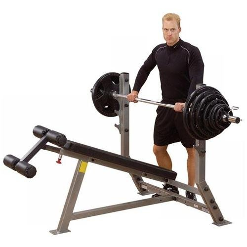 Body-Solid SDB351G ProClub Line Olympic Decline Bench Review
