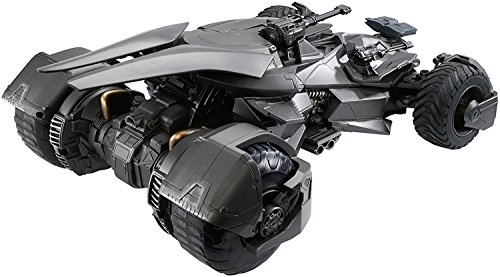 Justice League Batmobile Collectible Vehicle + Figure