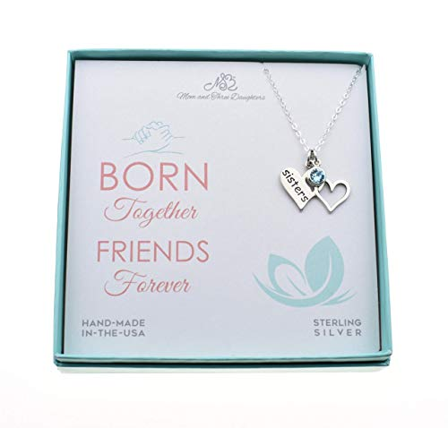 Twin Sister Gift. Gift for Twin Sister. Twin Sister Jewelry. Twin Sister Necklace. Birthday Gift for Twin Sister. Christmas Gift Twin ()