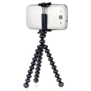 JOBY GripTight GorillaPod Stand - Flexible Universal Smartphone Stand for Small Smartphones including iPhone 6, iPhone 7 and iPhone 8