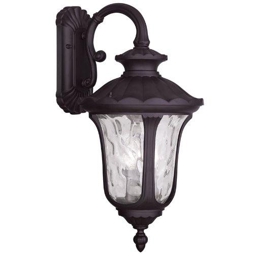 UPC 847284037755, Livex Lighting 7857-07 Oxford 3 Light Outdoor Wall Lantern, Bronze