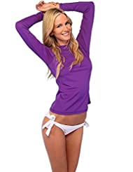 Ingear Ladies Rash Guard Long Sleeve Surf Shirt Swimwear