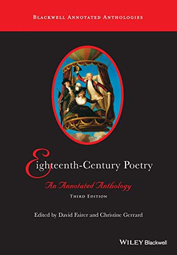 Eighteenth-century Poetry - an Annotated Anthology 3E