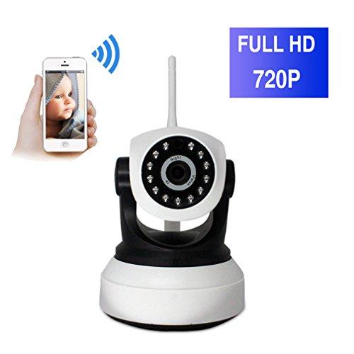 ShengyaoHul 720P HD Indoor Fotocamera Di Sorveglianza Ip, 1 Mp Sistema Di Telecamere Di Sicurezza Casa Ip / 433 Allarme Di Collegamento / Citofono Bidirezionale / Spegnimento Allarme Telecamera Di Sor