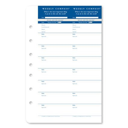 Free Classic Weekly Compass Cards