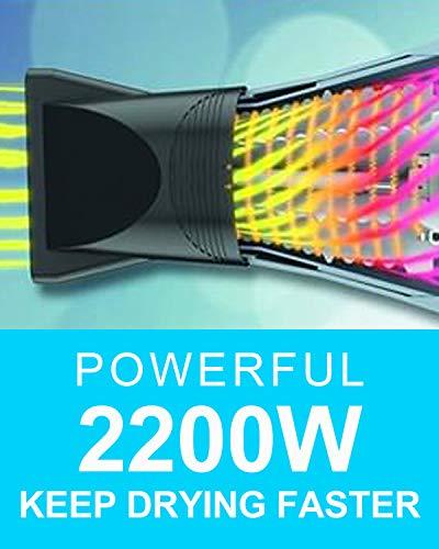 Professional Salon Hair Dryer 2200w Ionic Salon Blow Dryer JOHN Blast Turbo 6900 3