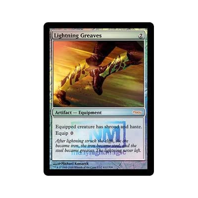 Magic The Gathering - Lightning Greaves - FNM 2009 - FNM Promos - Foil: Toys & Games
