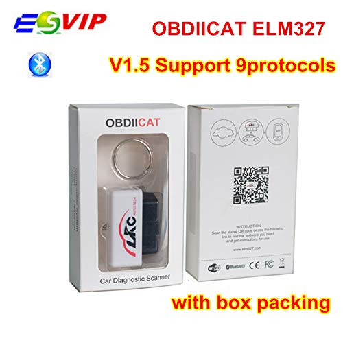 HITSAN 2018 new arrival Mini OBDIICAT ELM327 V1.5 with PIC25K80 Chip ELM 327 Bluetooth/WIFI Scanner obd2 auto diagnostic tool ELM327