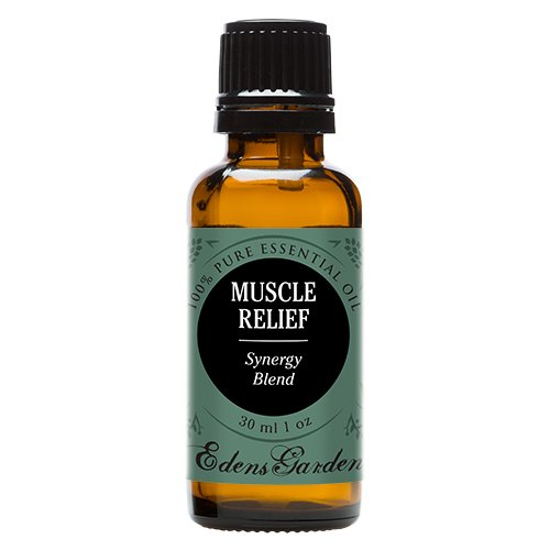 Edens Garden Muscle Relief 30 ml Synergy Blend 100% Pure Undiluted Therapeutic Grade GC/MS Certified Essential Oil
