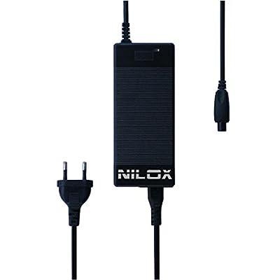 Nilox 30NXPWDOC0001 Chargeur de Batterie pour Hoverboard Mixte Adulte, Noir, 6 x 19 x 27 cm