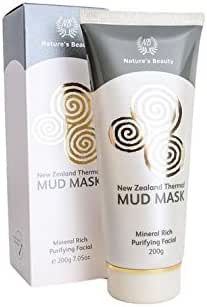 Nature 's beauty Rotorua Thermal Mud Mask With Royal Jelly, Spirulina and Vitamin E 200g product of New Zealand