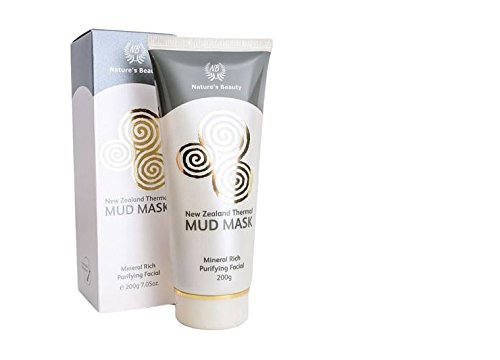 Nature 's beauty Rotorua Thermal Mud Mask With Royal Jelly, Spirulina and Vitamin E 200g product of New Zealand