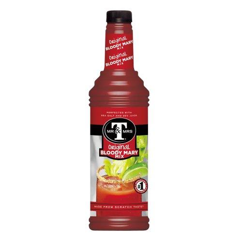 Mr. & Mrs. T Original Bloody Mary Mix, 1 Liter - Origin Mary Bloody