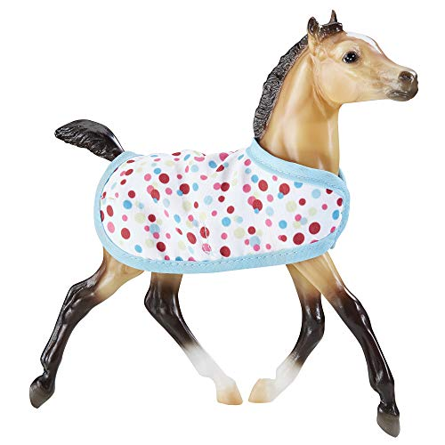 Breyer Traditional Milo - Foal Horse Toy Model with Friendship Bracelet (1:9 Scale)